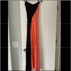 Felicity and Coco long maxi dress in size small